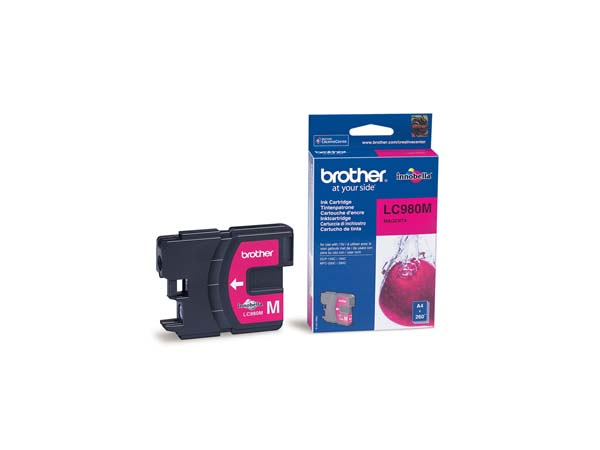 CARTUCHO TINTA BROTHER LC 980M P/165C