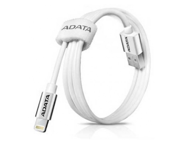 CABLE ADATA APPLE SYNC&CHARG LIGHTNING USB-A 2.0 100CM WHITE