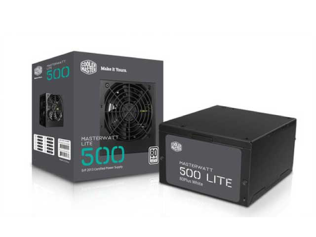 FUENTE COOLERMASTER MWL 500W 80 PLUS WHITE